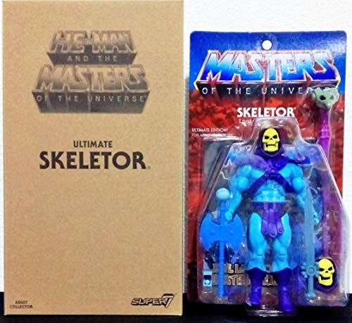SUPER7 Masters of The Universe Classics Action Figure Club Grayskull Ultimates Skeletor