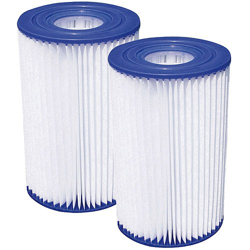 Universal Replacement Filter Cartridges Type A or C  (Pack of 2)