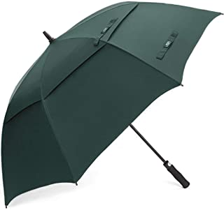 G4Free 54/62/68 Inch Automatic Open Golf Umbrella Extra Large Oversize Double Canopy Vented Windproof Waterproof Stick Umb...