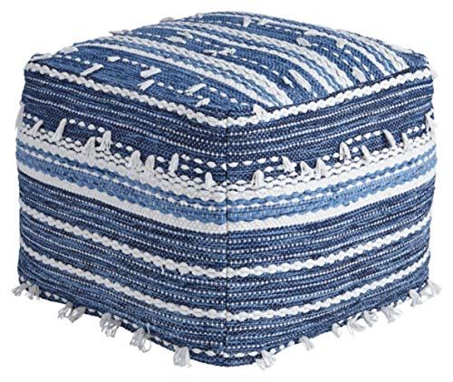 Signature Design by Ashley A1000324 Pouf-Comfortable Ottoman & Footrest-Casual