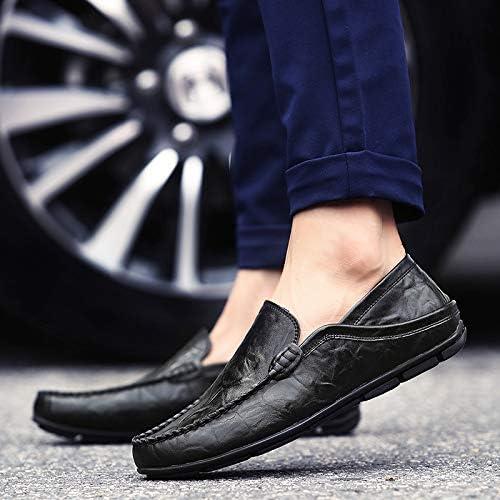 LOVDRAM Chaussures en Cuir pour Hommes Chaussures pour Hommes en Cuir De Grande Taille Chaussures Business Casual pour Hommes, Version Coréenne De L'Ensemble des Pieds, Chaussures à Pédales