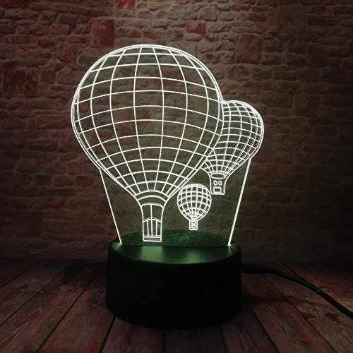 3D optische illusie lampen ballon LED 7 kleuren touch schakelaar veranderen nachtlampje voor slaapkamer huis decoratie verjaardag kerst cadeau