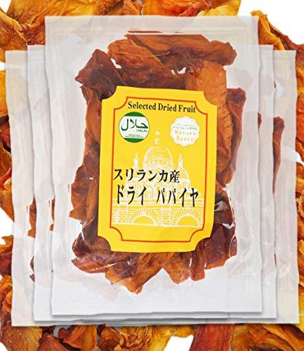 【無添加/砂糖不使用】 高品質オーガニックドライパパイヤ有機栽培ドライフルーツ たっぷり5袋セット 【ナチュレバザール】