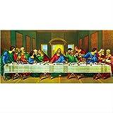 Cena De Pintura De Diamantes Para La Última Cena Jesús Discípulos Figuras Religiosas Pasta Diamante ...