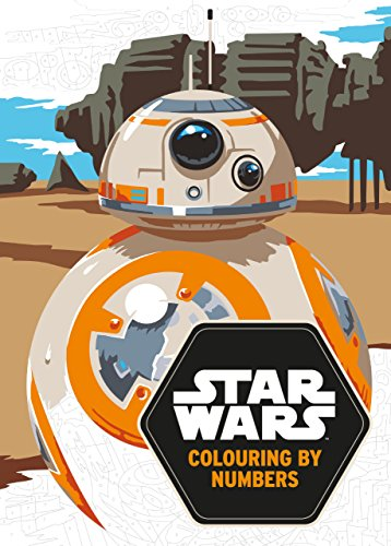 Star Wars: Colouring By Numbers (Star Wars Colouring Books)
