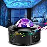 Led Night Light, Star Projector, Galaxy Projector, HOKEKI Lights for Bedroom, Starlight Projector,with Bluetooth Speaker, Can Remote Control Adjust Brightness, Suitable for Romantic Gifts…