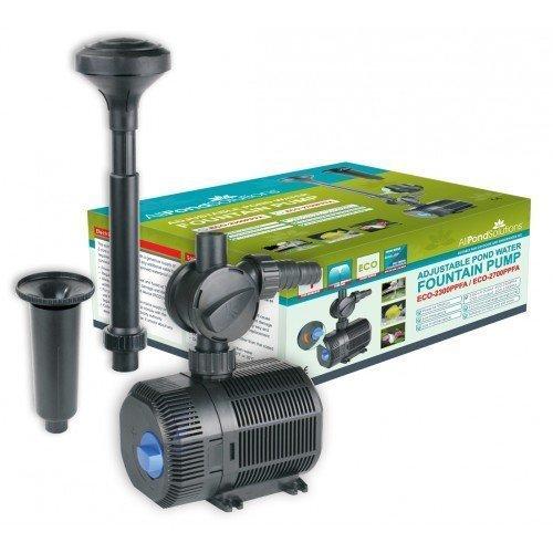 All Pond Solutions Eco Bomba de Agua para Estanque Ajustable (2300 L/H)