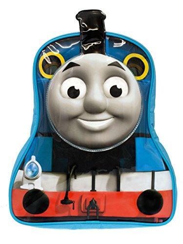 Thomas & Friends Thomas the Tank Engine - Mochila con un práctico bolsillo con cremallera y cómodas correas ajustables [Talla única] [Multicolor]