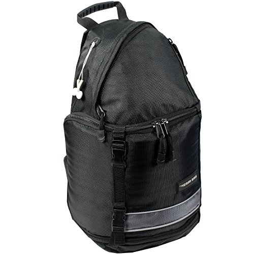 Kamerarucksack CAMBAG Fotorucksack D-SLR Laptop Rucksack Kameratasche Schwarz - Auswahl (Oslo - Sling Backpack Medium)