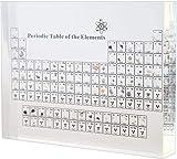 SXGDX Acrílico Tabla periódica de visualización con los Regalos de cumpleaños del día de la...
