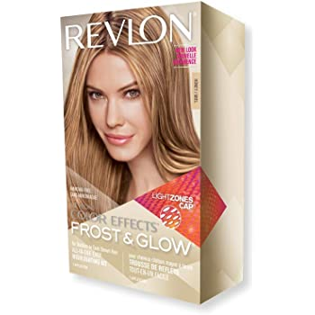 Revlon Colorsilk Color Effects Frost and Glow Hair Highlights, At-Home Hair Dye Kit for Natural, Color-Treated & Permed Hair, Honey, 1 Count