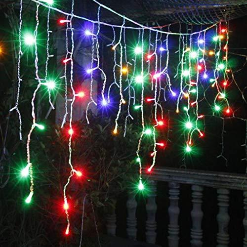 Preisvergleich Produktbild 120 Led Lichterkette Zeichenfolge Kreative Wasserdichte Hängende Lichterkette Im Freien Bunt Garten Party Lichterkette Weihnachtsbeleuchtung Für Weihnachten Hochzeit Weihnachtsbaum