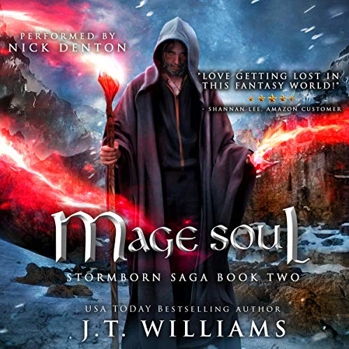 Mage Soul: A Tale of the Dwemhar Audiobook By J.T. Williams cover art