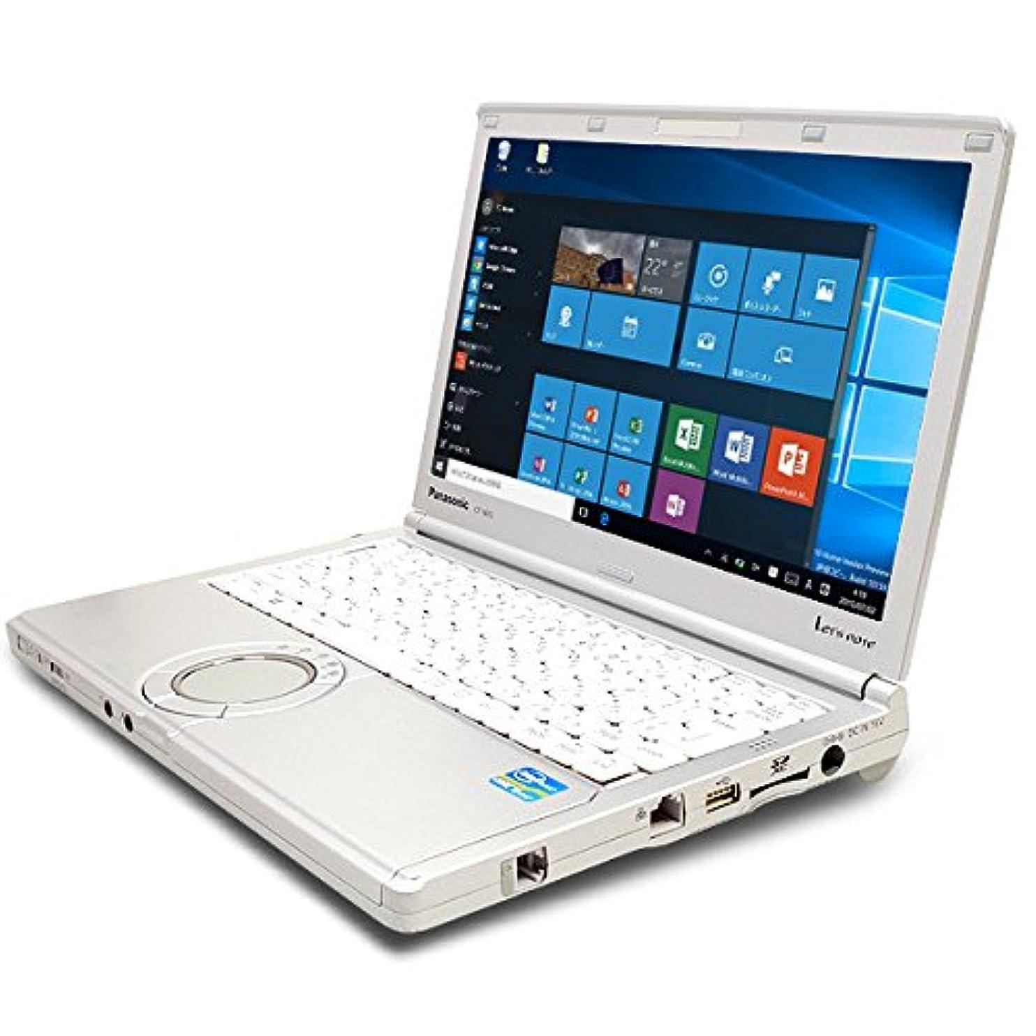 残高圧縮されたベリーノートパソコン 中古 Panasonic Let'snote CF-NX2AWGCS Core i5 4GBメモリ 12.1インチワイド Windows10 MicrosoftOffice2013