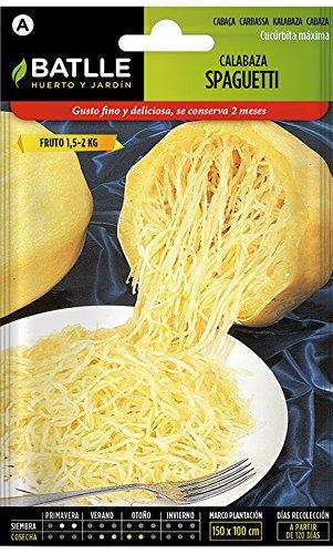 Semillas Hortícolas - Calabaza Spaghetti - Batlle