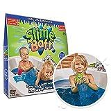 Slime Baff, color azul, paquete de baño, convierte el agua de la bañera en baba pegajosa. Juguete sensorial y de baño para niños, certificado biodegradable.