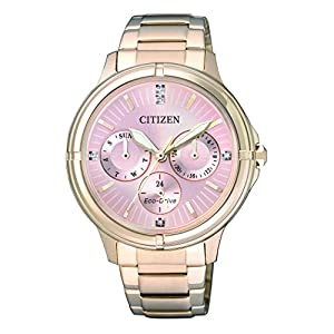 Citizen–Reloj de Pulsera analógico para Mujer Cuarzo, Revestimiento