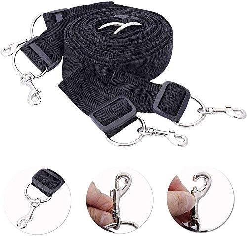 Serie Fantasy de cómodos cinturones de nailon para dormitorio para novios y novias (negros)