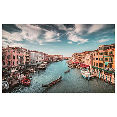 Subfamily 500 pcs Venedig Classic Puzzles, Jigsaw Puzzle, Frame Puzzle, Marvel Puzzle, Impossible Puzzle Boxes for Adults, Children, Skill Game for The Whole Family 46x28cm