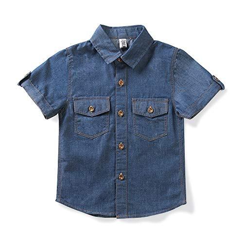 La mejor selección de Camisas de Mezclilla para Niños los mejores 10. 1