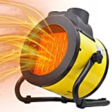AgiiMan Space Heater - Portable Electric Heater for Indoor Use, Personal Infrared Heaters with Extra Long Cord, Thermostat, Heat Up in 3 Seconds, Adjustable Heating Settings, Small Fan Heater for Office, Bedroom, Desk