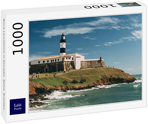 Lais Puzzle Faro di Barra a Salvador, Bahia, Brasile. 1000 Pezzi