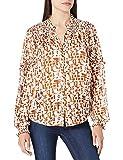 Scotch & Soda Transparentes Shirt mit Print Blusas, 0219 Combo C, XL para Mujer