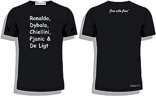 'Fino alla fine' Juventus Stars t-Shirt Ronaldo, Dybala, Chiellini, Pjanic, De ligt