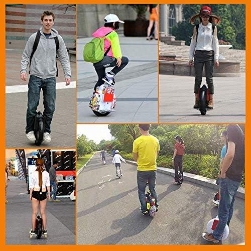 """Helmets Gyroroue électrique Adulte Unisexe, Version Accessoire de Protection Gyroroue Noire, 14"""" -Parleur Bluetooth, E-Scooter, Gyroroue Unisexe Adulte Charge De 120 Kg"""