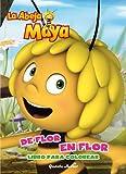 La abeja Maya. De flor en flor: Libro para colorear (La Abeja Maya 3d)