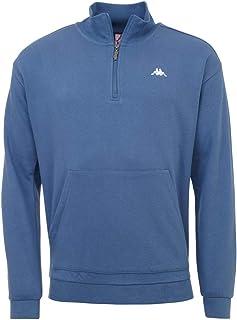 Kappa Men's Greeter sweatshirt, mens, Sweatshirt, 307077, 18-4026 Stellar, M