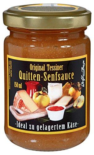 Quitten Senfsauce 150ml Quittensenf ideal zu gelagertem Käse