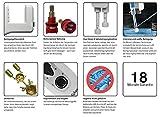 Deluy Dusch-WC, Platinum Series | Bidet mit Warmwasser (ohne Strom) | Po-Dusche, Taharet - 5