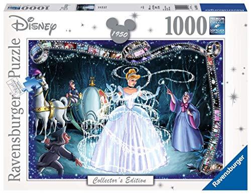Disney - Puzzle, diseño Cenerentola, 1000 piezas (Ravensburger 19678) , color/modelo surtido