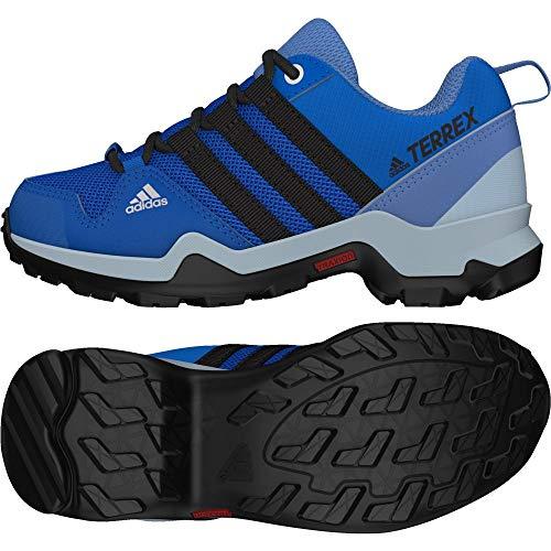 adidas adidas Unisex-Kinder Terrex Ax2r Cp K Trekking- & Wanderhalbschuhe, Blau (Belazu/Negbas/Gricen 000), 35.5 EU