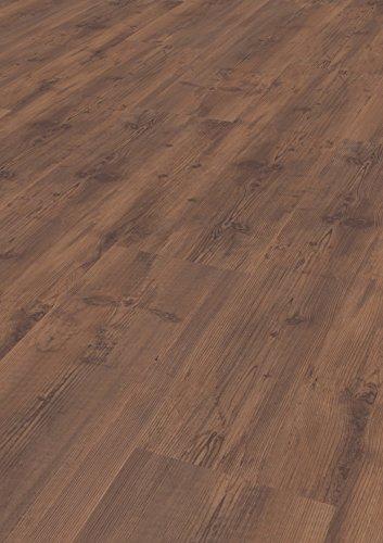 1 Paket (3,00 m²) PVC Bodenbelag / Vinylboden zum Klicken / wasserfest - Französische Pinie Coffee