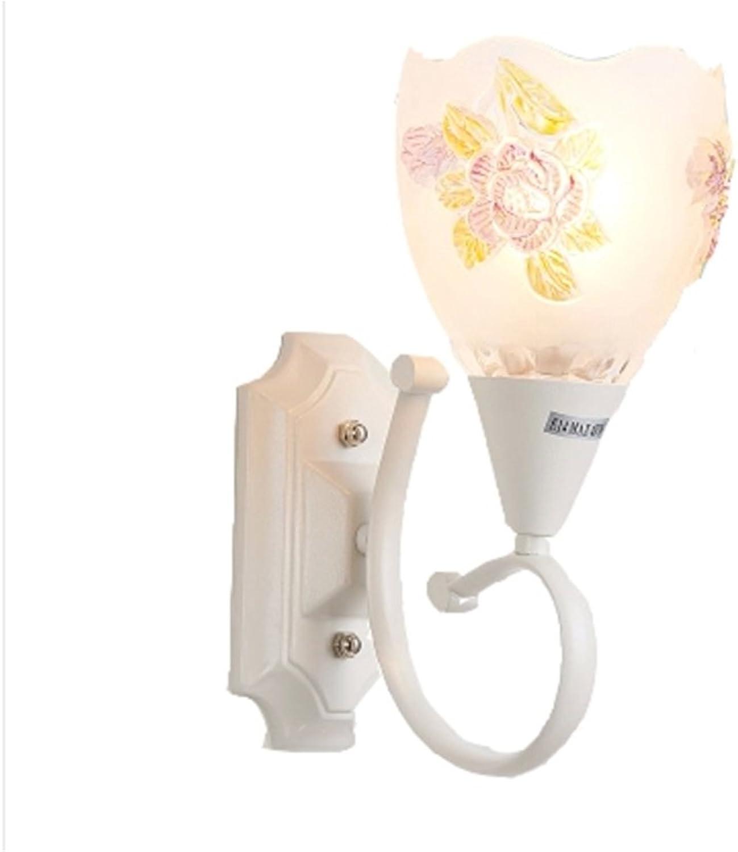 Leuchte Einfache und moderne kreative LED-Schlafzimmer-Treppen-Wand-Lampe (dreifarbige Lichter)