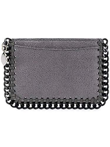 Stella McCartney Luxury Fashion Femme 371371W81803250 Gris Porte-Cartes | Saison Outlet