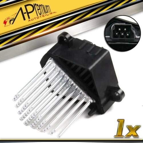 64116923204 - Resistencia de ventilador delantero para 5 E39 520i 535i 3 E46 318d 316i 318i M3 E53 X5 E83 X3 1995-2008
