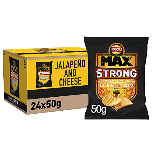 Walkers Max Strong Jalapeno and ...