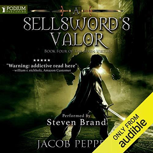 A Sellsword's Valor audiobook cover art
