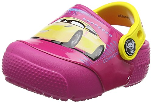 Crocs Fun Lab Lights Cars 3 Clogs voor kinderen, uniseks