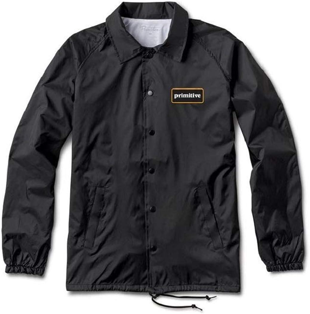 Primitive GFL Coach Black Screenprinted Windbreaker Men's Jacket