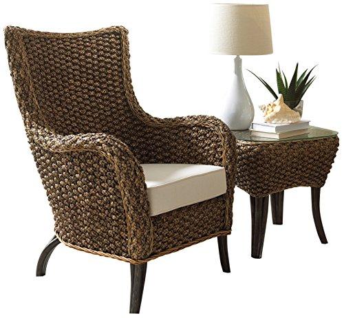 Panama Jack Sunrooms 2 PCPJS-1001-CET Sanibel 2 Piece Lounge Chair Set with Cushions, Light Beige