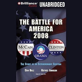 The Battle for America 2008 audiobook cover art