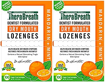 2-Pack TheraBreath Dry Mouth Lozenges with Zinc
