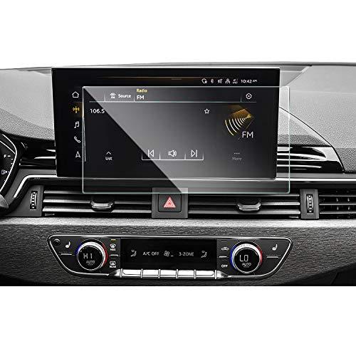 SHAOHAO für Audi MIB3 10.1 Zoll Navigation Schutzfolie, 254 * 130MM Kratzfest Anti-Fingerprint Panzerglas Displayschutzfolie GPS Navi Folie