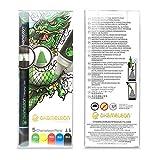 Chameleon Art Products 5 pennarelli permanenti a Base di Alcol Toni Primari, 22x2x2