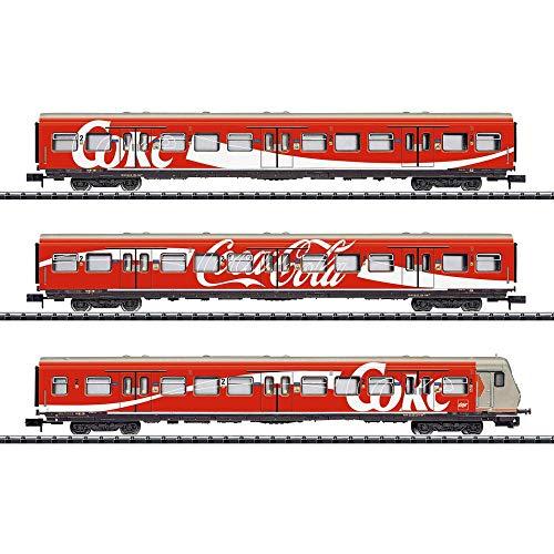 Minitrix 15708 DB 3er-Set Personenwagen Coca-Cola