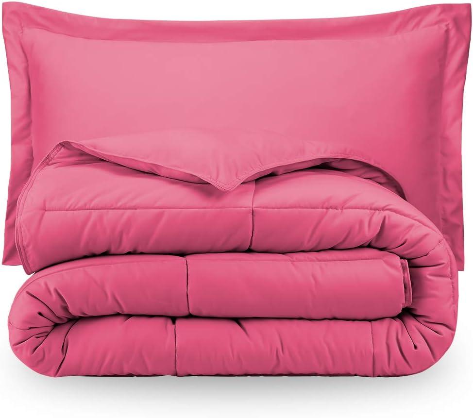 Pink Premium XL Twin Comforter Set, Twin Extra Long